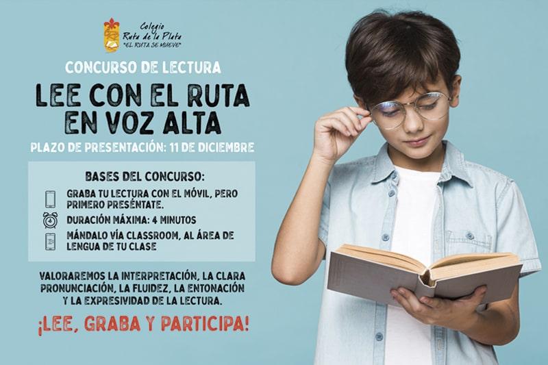Concurso de Lectura: 'Lee con el Ruta en voz alta'